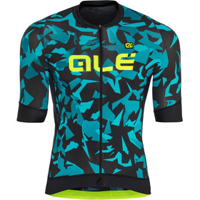 Alé Cycling Graphics PRR Glass SS Jersey Herren black petr-turquise